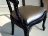 seduta FET, recupero di una seduta in stile, legno, guarnizioni plastiche, finta pelle