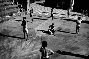 Un momento delle prove della Performance I Have a Dream per il progetto Save My Dream- foto DI Claudio Palmisano