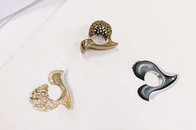 Koefia e otp corso di design del gioiello giovani stilisti for Corso di design del gioiello