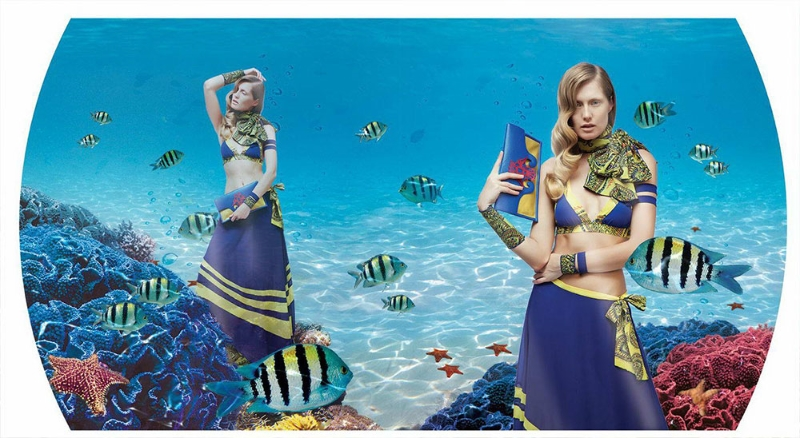 Abitart, Vanessa Foglia, Collezione P/E 2014  Linea-aurora