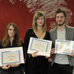 I vincitori da sx Boi - Mastroeni - Armelin